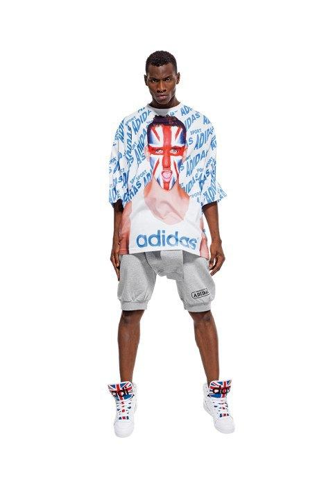Неоновые цвета и крылья в лукбуке Джереми Скотта для adidas Originals. Изображение № 2.