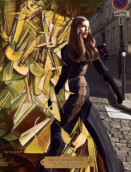 Композитки пяти модельных агентств к Нью-Йоркской неделе моды. Изображение № 83.