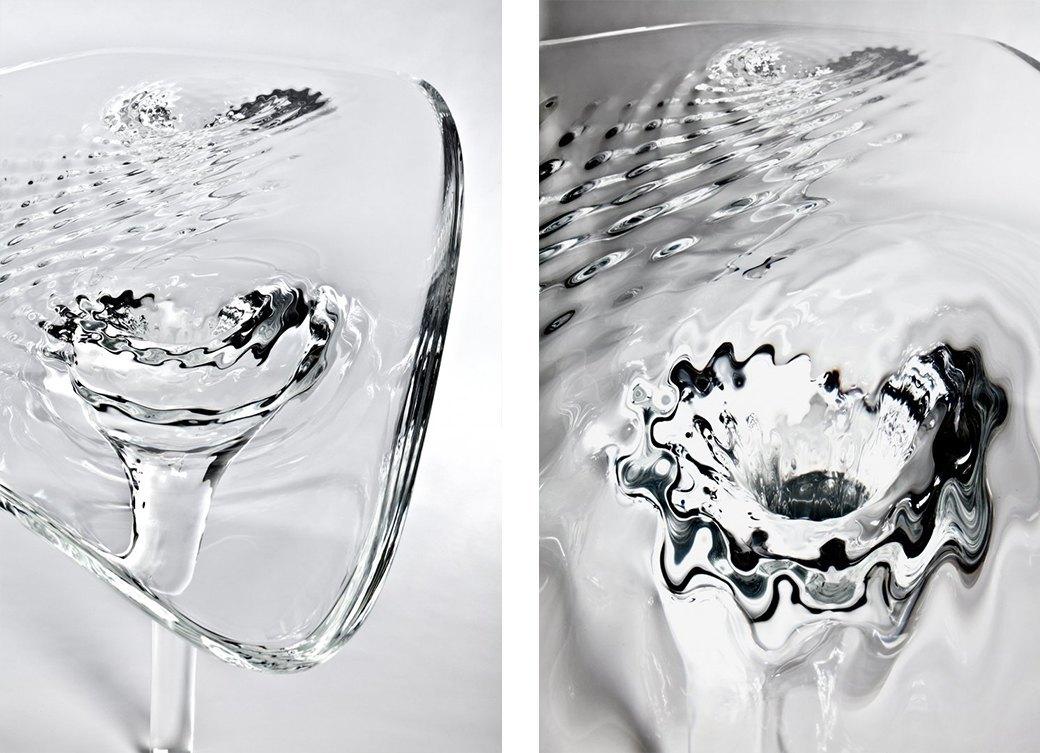 Коллекция «ледяной» мебели Захи Хадид. Изображение № 8.
