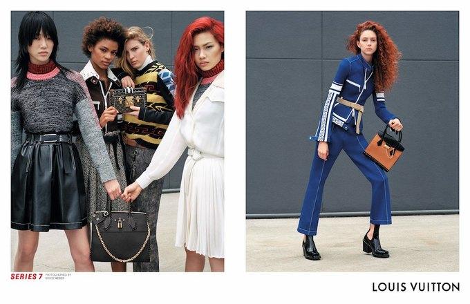 Катрин Денёв и Джейден Смит в новой кампании Louis Vuitton. Изображение № 5.