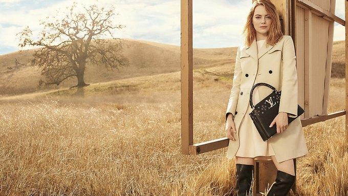 Louis Vuitton опубликовал первую кампанию с Эммой Стоун. Изображение № 6.