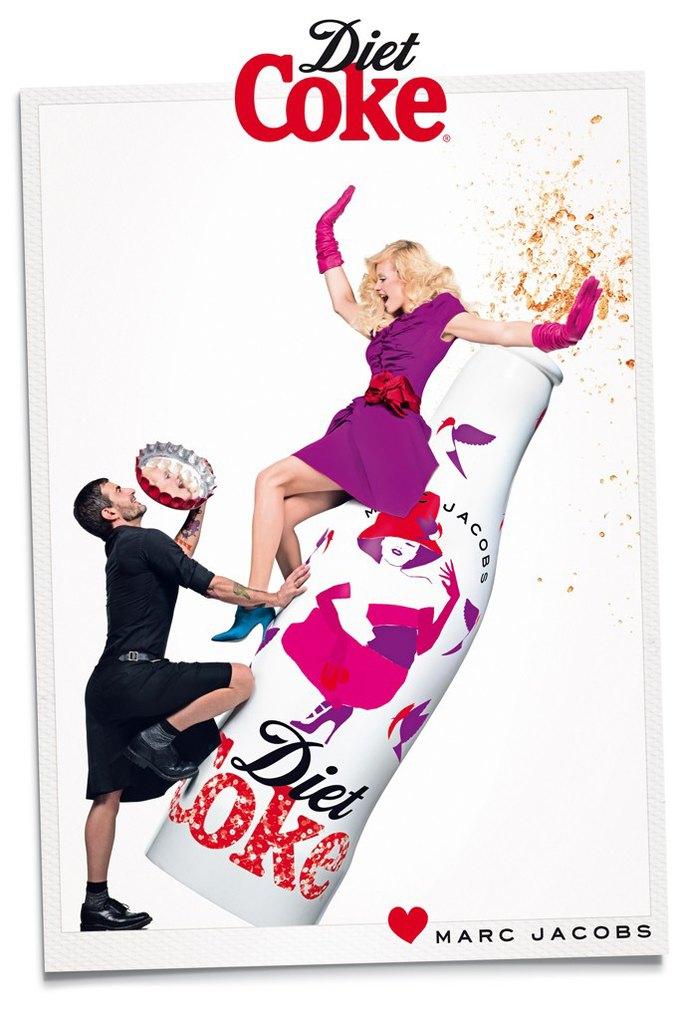 Вышел новый ролик Марка Джейкобса для Diet Cola. Изображение № 1.