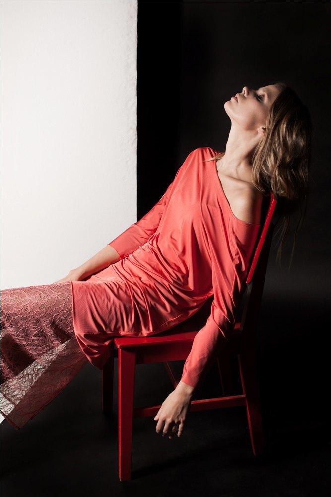 Платья и юбки в бельевом стиле в лукбуке Daria Bardeeva . Изображение № 9.