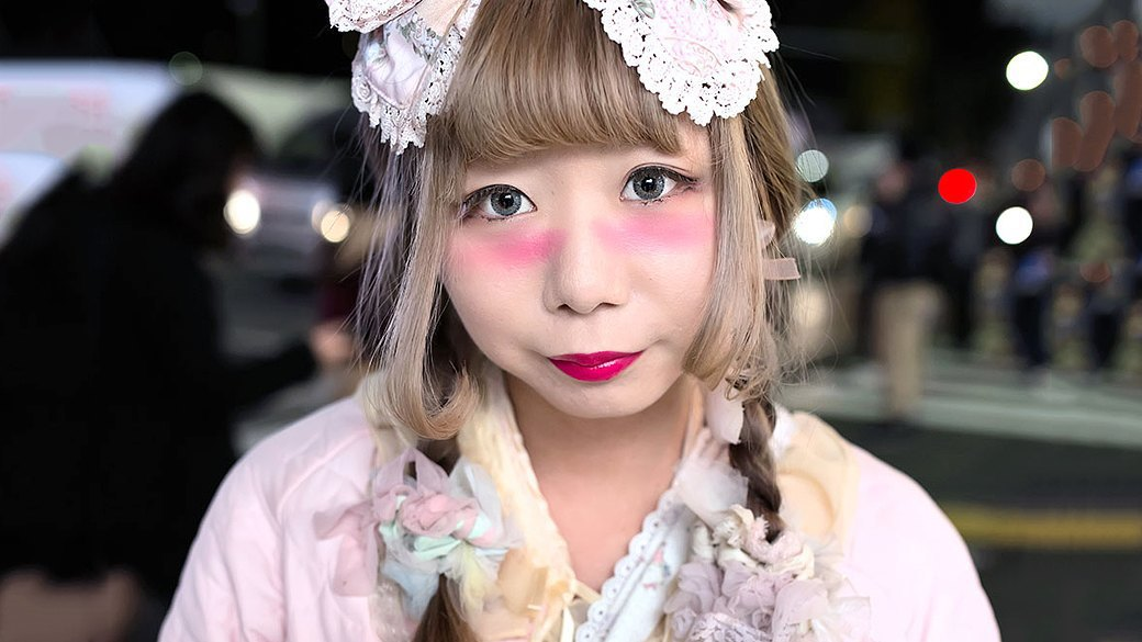 Кавайный макияж для азиатки