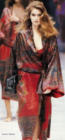 Versace FW 1989. Изображение № 18.