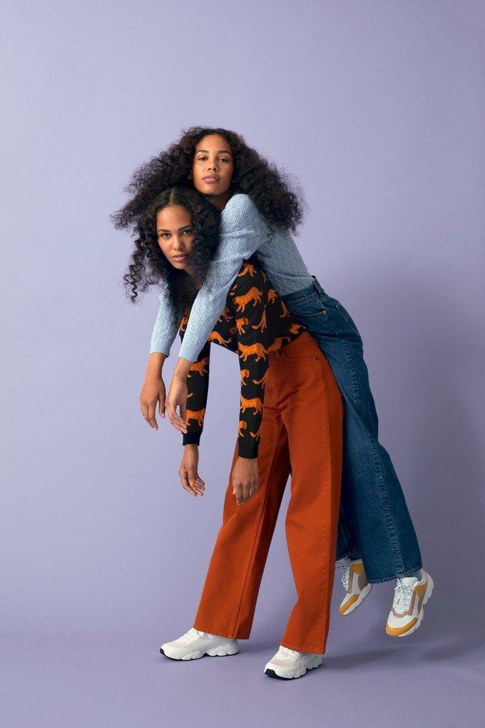 Люби деним: Monki показали новый джинсовый лукбук . Изображение № 6.