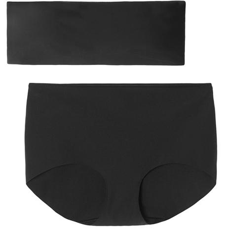 Мягкое бесшовное бельё: 10 стильных и лаконичных комплектов. Изображение № 2.