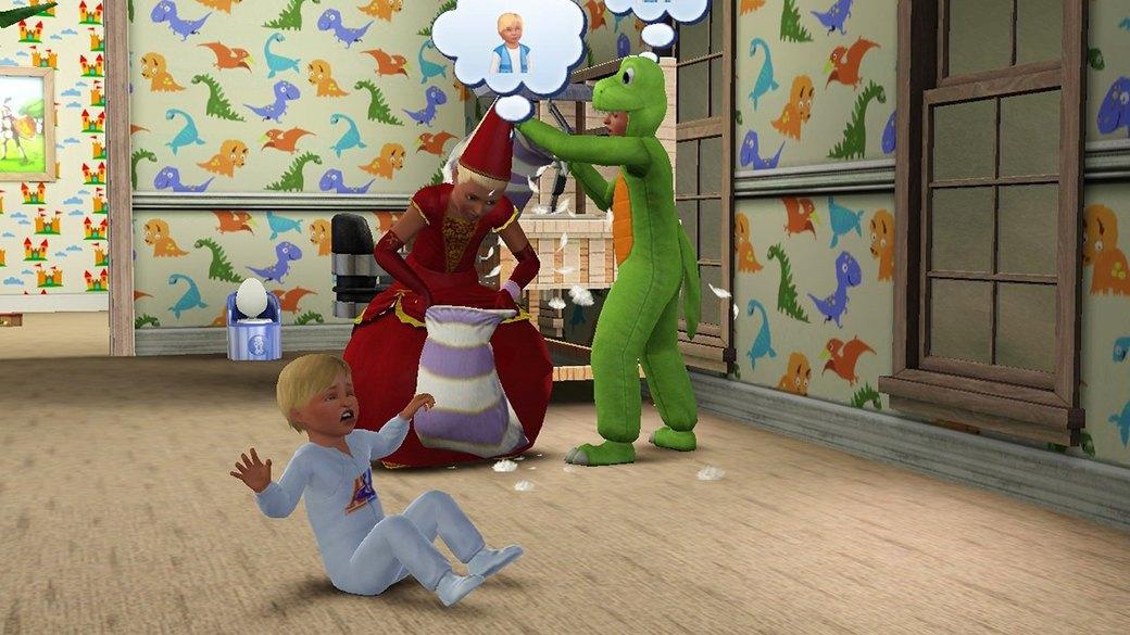 Как юные фанатки The Sims представляют себе взрослую жизнь. Изображение № 35.