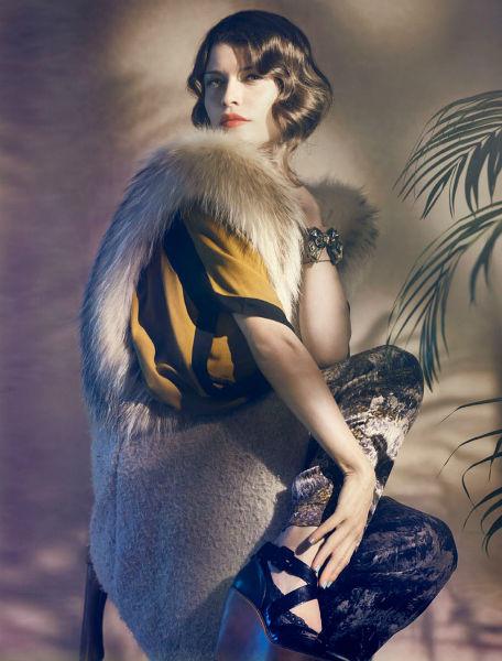 Съёмка в немецком Elle, январь 2012. Изображение № 73.