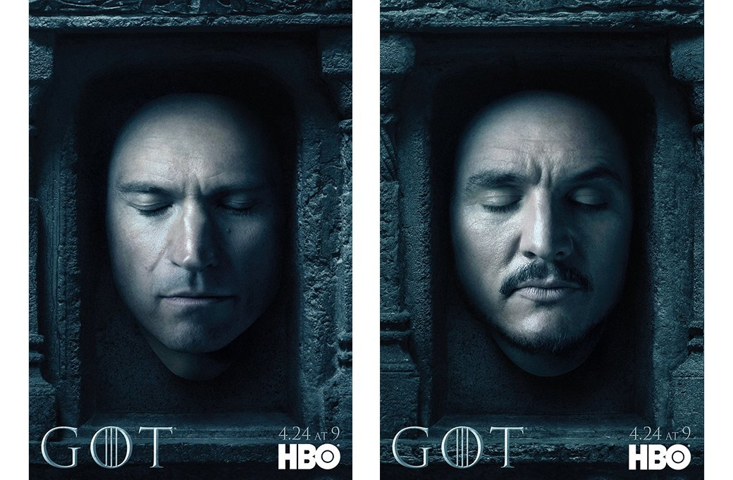 Постеры с героями «Игры престолов» к новому сезону. Изображение № 8.