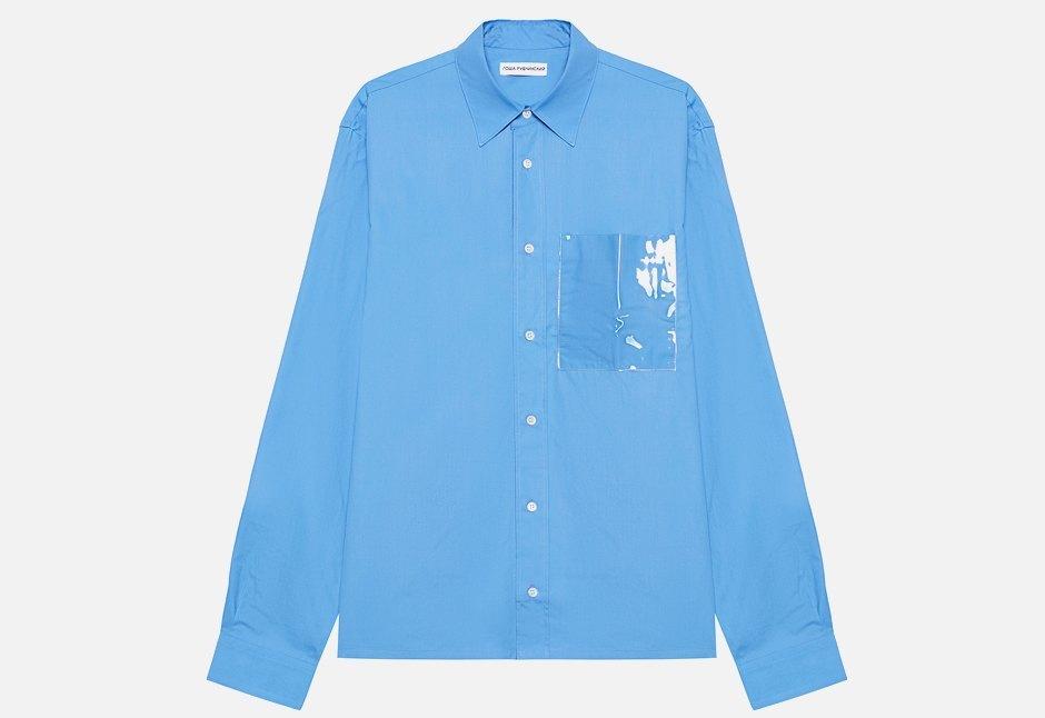 Классическая рубашка Gosha Rubchinskiy с интересной деталью. Изображение № 1.