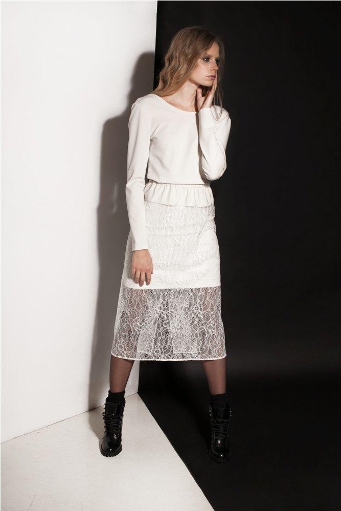 Платья и юбки в бельевом стиле в лукбуке Daria Bardeeva . Изображение № 11.