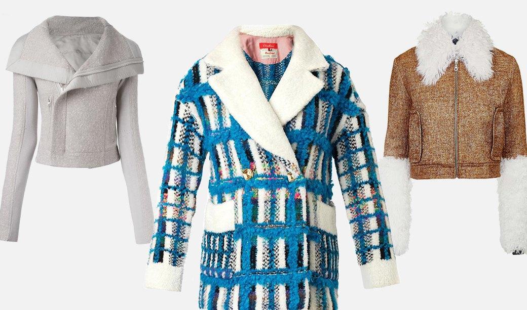 Что носить осенью: Пальто, платья, обувь и другие актуальные вещи из твида. Изображение № 8.