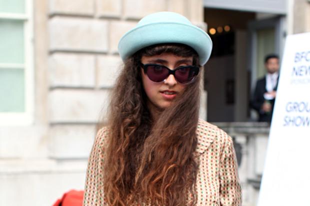 Streetstyle: Неделя моды в Лондоне, часть 1. Изображение № 1.