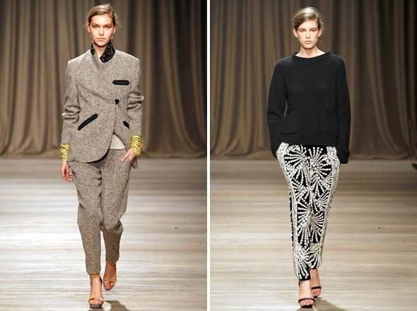 Изображение 3. Показы на Milan Fashion Week FW 2011: день 6.. Изображение № 6.