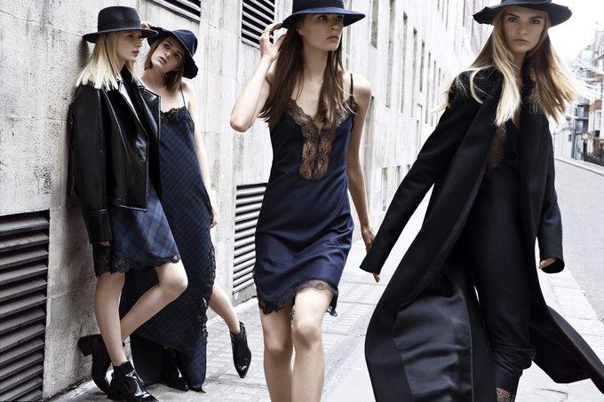 Модели на улицах Лондона в новой кампании Zara. Изображение № 5.