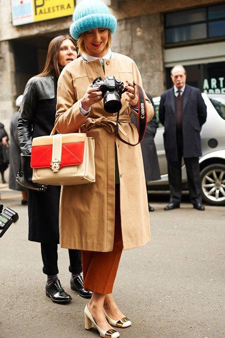 Стритстайл:  Неделя моды в Милане,  часть I. Изображение № 4.