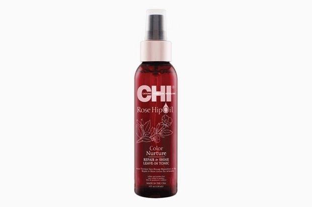 Восстанавливающий несмываемый тоник для волос с защитой от химического воздействия CHI Rose Hip Oil Repair & Shine Leave-In Tonic. Изображение № 8.