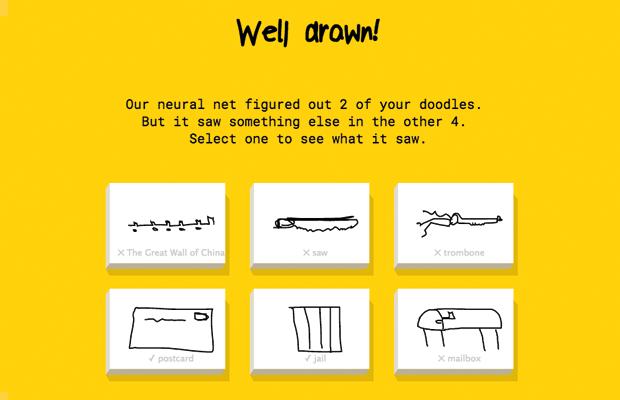 Quick, Draw!: Google пытается угадать, что вы нарисовали. Изображение № 1.
