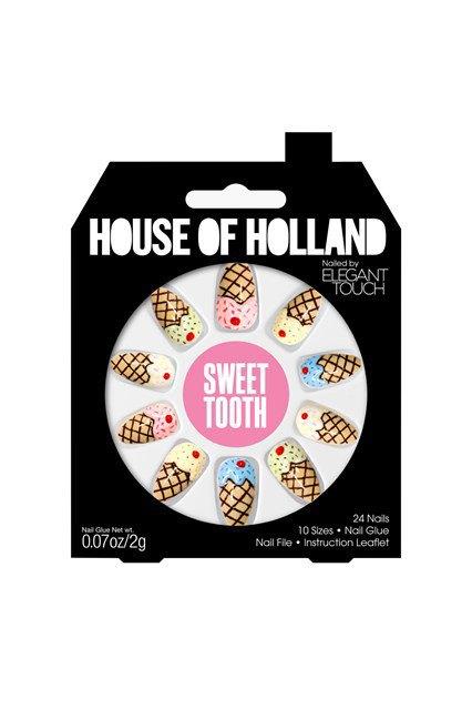 House of Holland и Elegant Touch сделали классные накладные ногти. Изображение № 7.