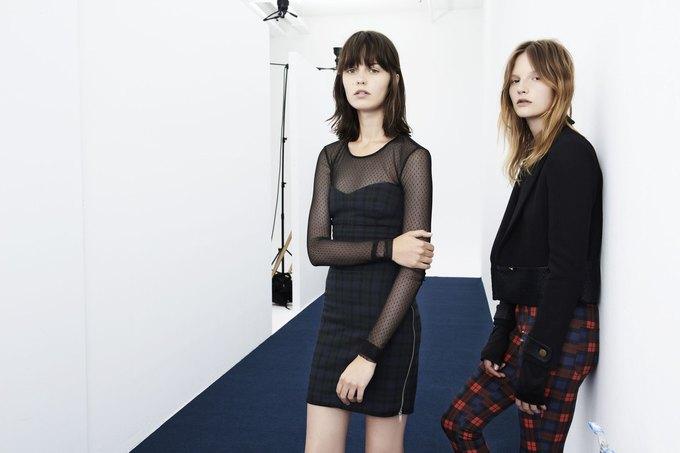 Леопардовые шубы и платья-сорочки в новой коллекции Zara. Изображение № 11.
