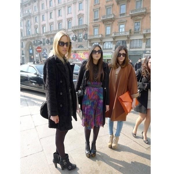 Milan Fashion Week: день первый — луки. Изображение № 6.