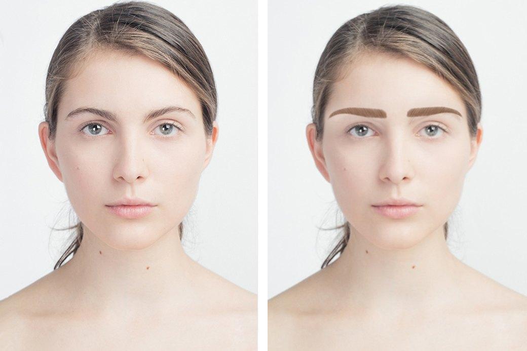 До и после макияжа:  Редакция тестирует  бьюти-приложения. Изображение № 7.