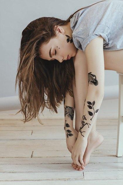 Переводные татуировки Sasha Unisex. Изображение № 3.