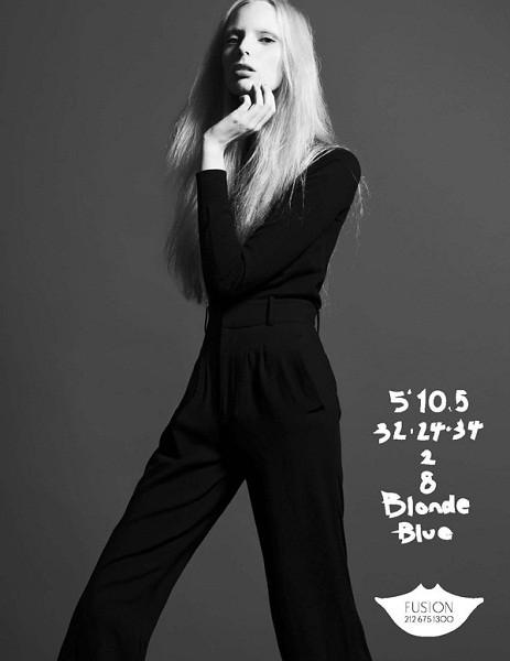 Композитки пяти модельных агентств к Нью-Йоркской неделе моды. Изображение № 25.