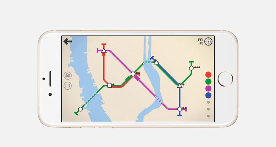 Хит сезона: Мобильная головоломка Mini Metro. Изображение № 1.