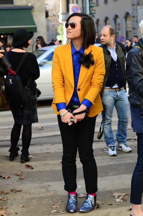 Неделя моды в Милане: Streetstyle. Изображение № 35.