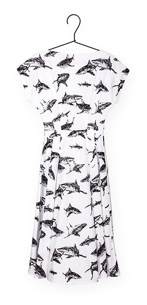 Платья и рубашки с акулами Binary. Изображение № 9.