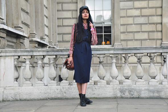 London Fashion Week: Уличный стиль, часть 2. Изображение № 1.