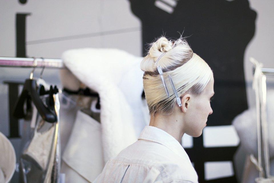 Paris Fashion Week FW 14:  Бэкстейдж показа  Gareth Pugh. Изображение № 15.
