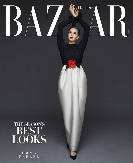 Внук Ричарда Аведона снял внучку Одри Хепберн  для Harper's Bazaar. Изображение № 1.