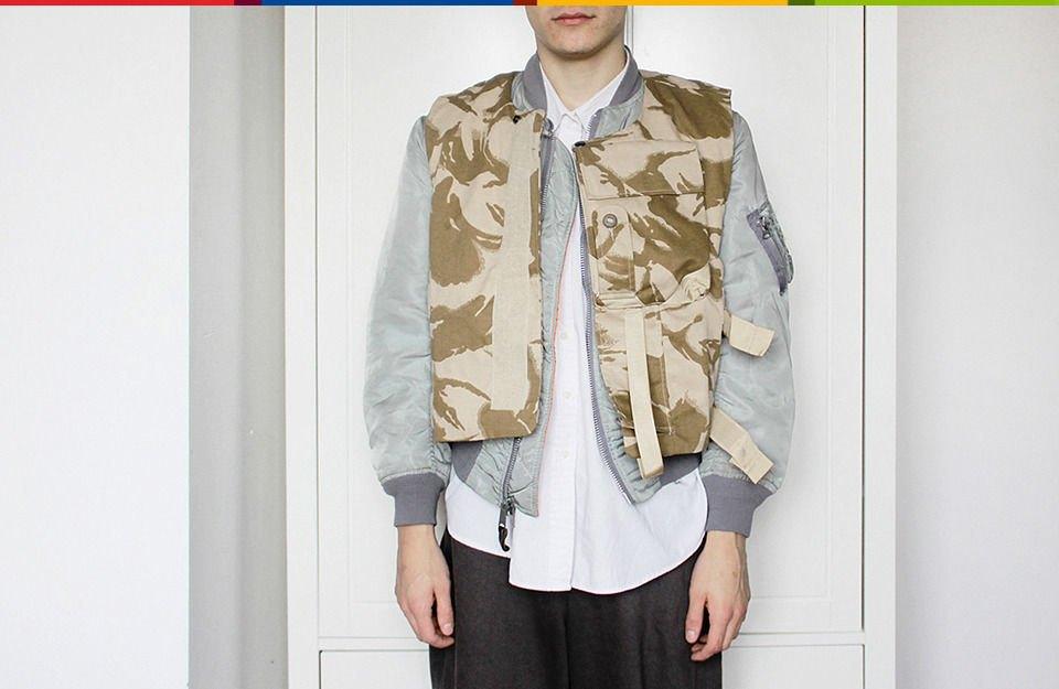 Война и мир: Студент Saint Martins о своей коллекции милитари-одежды. Изображение № 10.