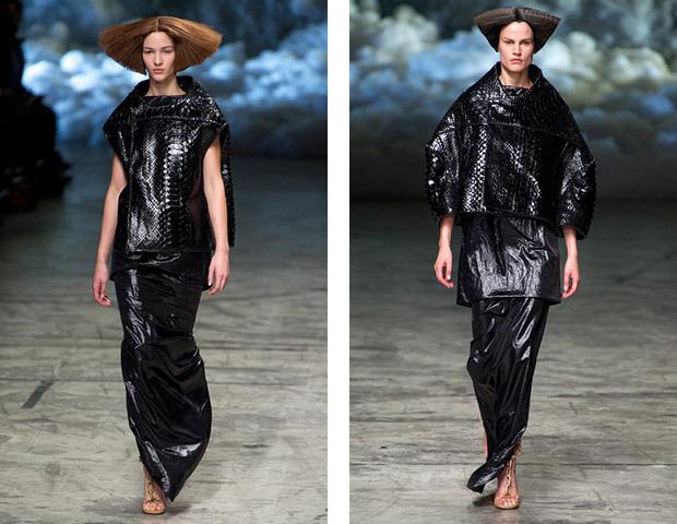 Неделя моды в Париже: Показы Balenciaga, Carven, Rick Owens, Nina Ricci, Lanvin. Изображение № 56.