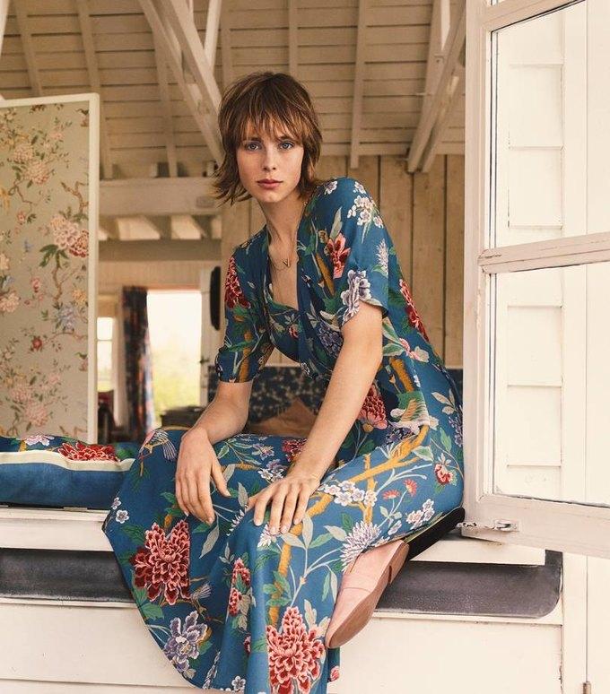 H&M показали красивый коллаб с текстильной маркой GP & J Baker . Изображение № 1.