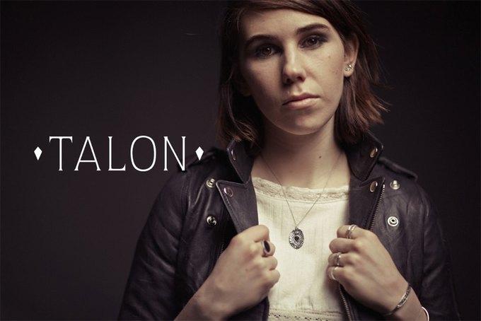 Зося Мамет снялась в лукбуке марки украшений Talon. Изображение № 1.