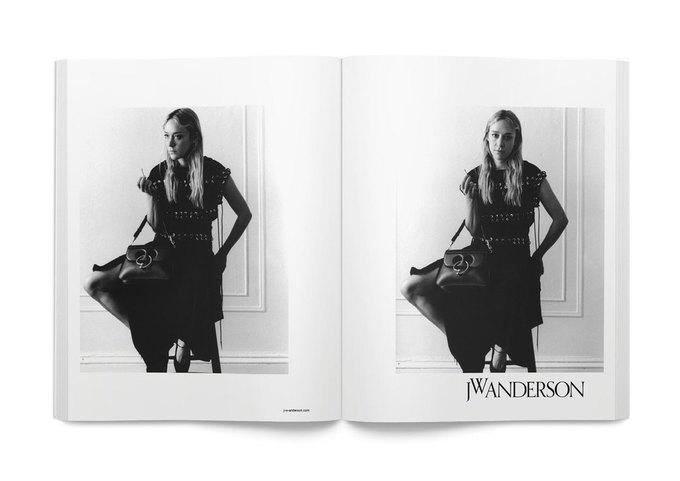 Хлое Севиньи снялась  в рекламной кампании J.W.Anderson. Изображение № 3.