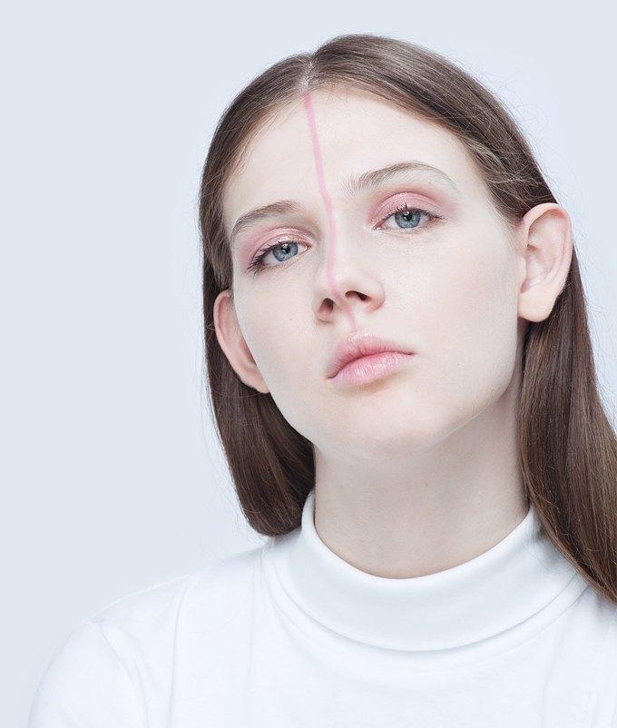 Эксперименты  с макияжем: Графичные акценты на лице. Изображение № 7.