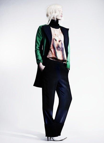 Пальто с графическими принтами в лукбуке Minimarket . Изображение № 10.