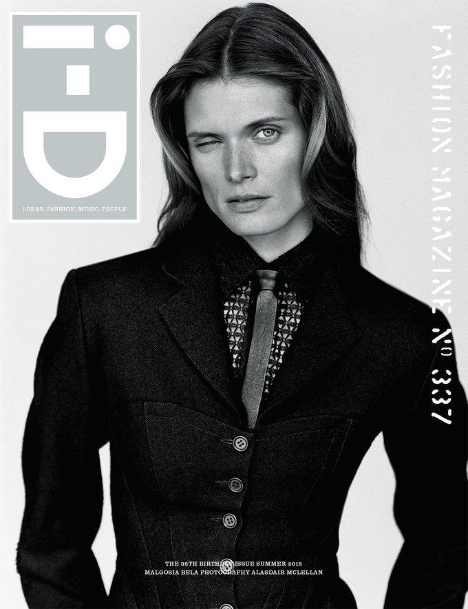 Журнал i-D отметил  35-летие восемнадцатью обложками с моделями. Изображение № 11.