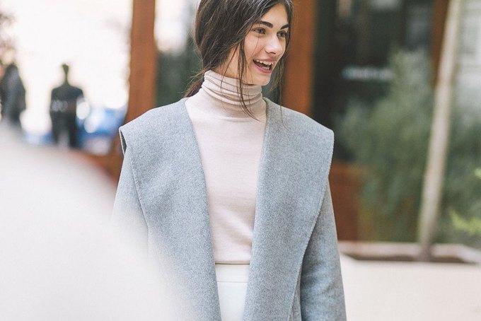Объемные пальто и клетка в осеннем лукбуке Zara. Изображение № 22.