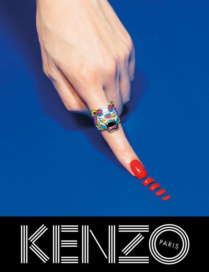 Котики и глаза в новой кампании Kenzo. Изображение № 8.