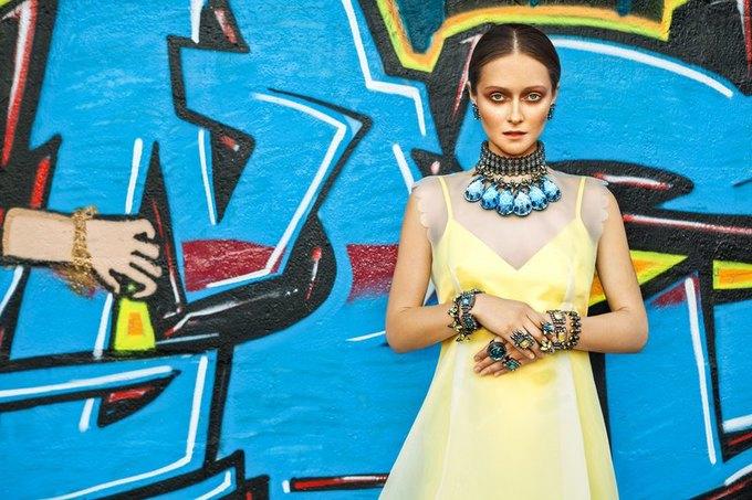 Дарья Шаповалова в новой кампании украшений Mawi. Изображение № 1.