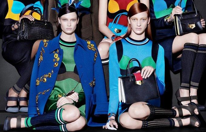Для новой кампании Prada снялись 18 моделей. Изображение № 5.