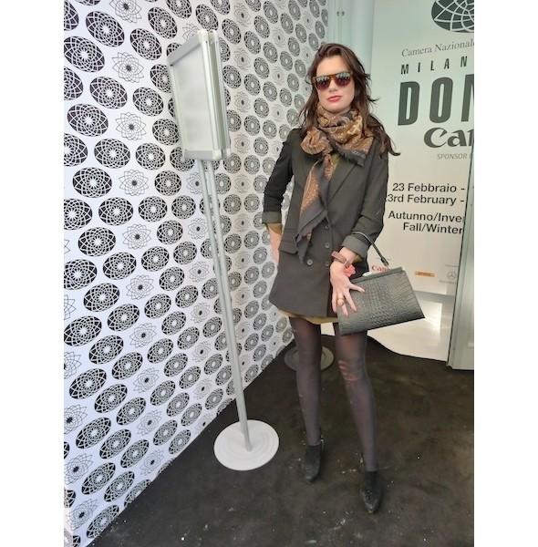 Milan Fashion Week: день первый — луки. Изображение № 15.