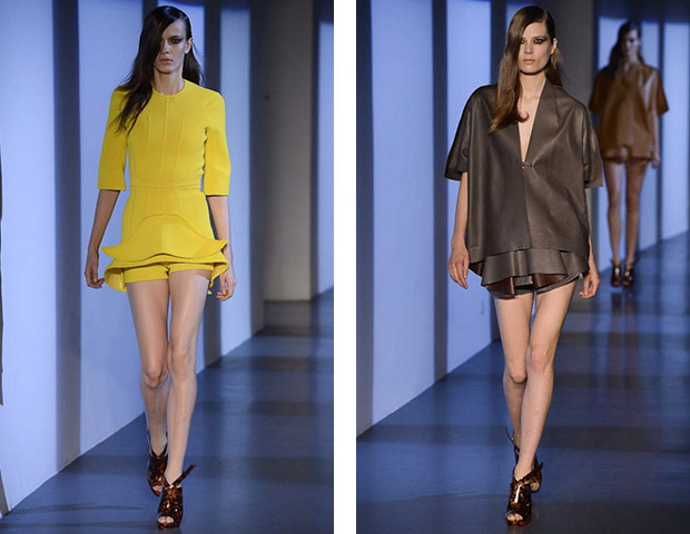 Парижская неделя моды: показы Damir Doma, Dries Van Noten, Rochas, Gareth Pugh и Mugler. Изображение № 47.