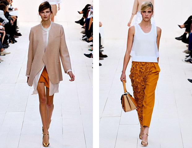 Парижская неделя моды: Показы Stella McCartney, Chloe, Saint Laurent, Giambattista Valli. Изображение № 24.